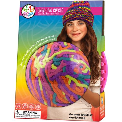 Creative Circle Loom Knitting Kit Sunburst