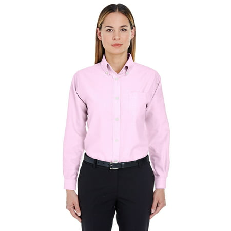 60% clearance details for find workmanship UltraClub Women's Classic Wrinkle Free Oxford Shirt