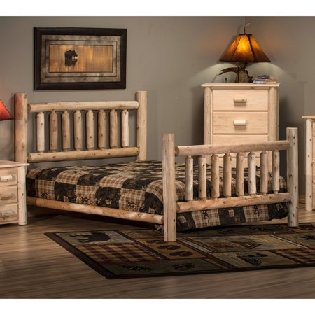 Lakeland Mills Frontier Low Post Panel Bed