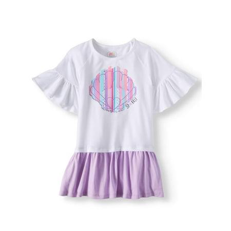 Drop Hem Dress (Little Girls & Big Girls) (Dresses From Grease)