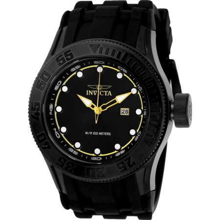 22249 Men's 'Pro Diver' Quartz Stainless Steel and Silicone Casual