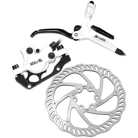 Hydraulic Front Disc Brake Rotor - Tektro Draco Hydraulic Disc Brake Set with Levers Calipers and Rotors