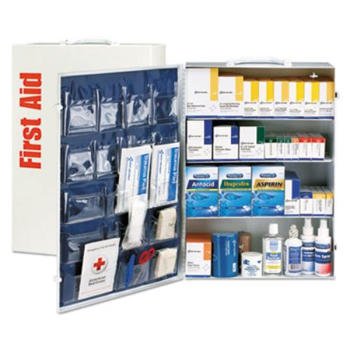 First Aid Only Inc 90576 Ansi Class B+ 4 Shelf First Aid Station With Medications, 1437 Pieces by First Aid Only Inc