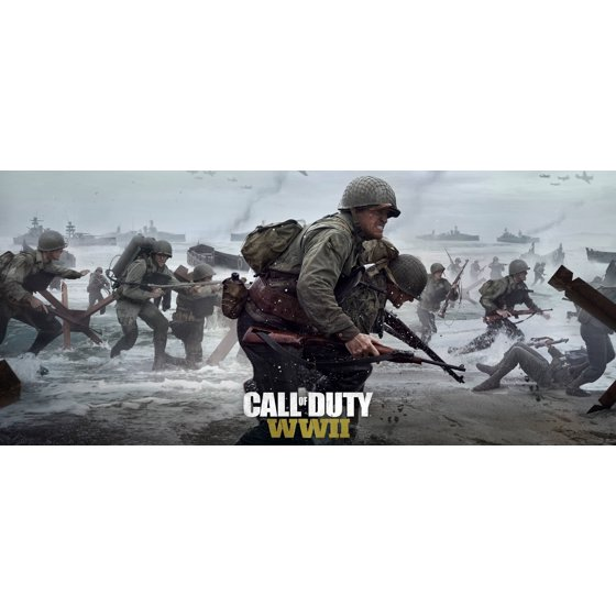 Call of duty wwii activision xbox one 047875881129 walmart fandeluxe Gallery