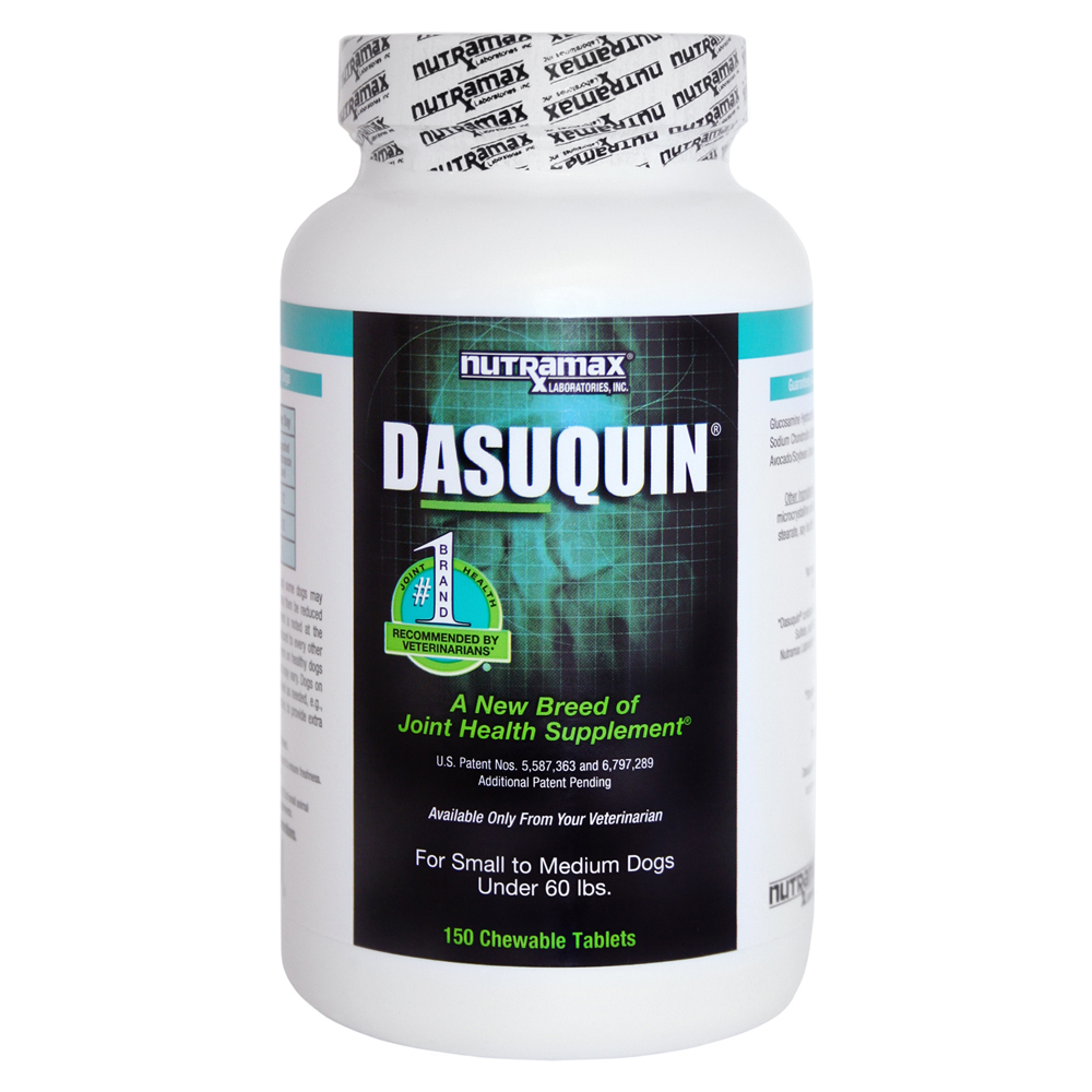 Nutramax Dasuquin Joint Health Small/Medium Dog Supplement, 150 Chewable Tablets