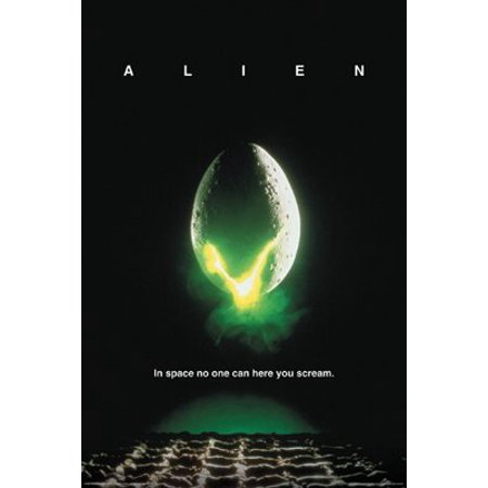 Alien Movie Poster - Sigourney Weaver - Aliens New 24x36