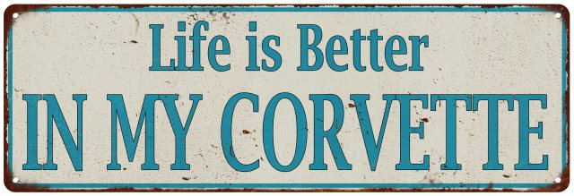 Life is Better When I'm COOKING Vintage Look Metal Sign 106180061029