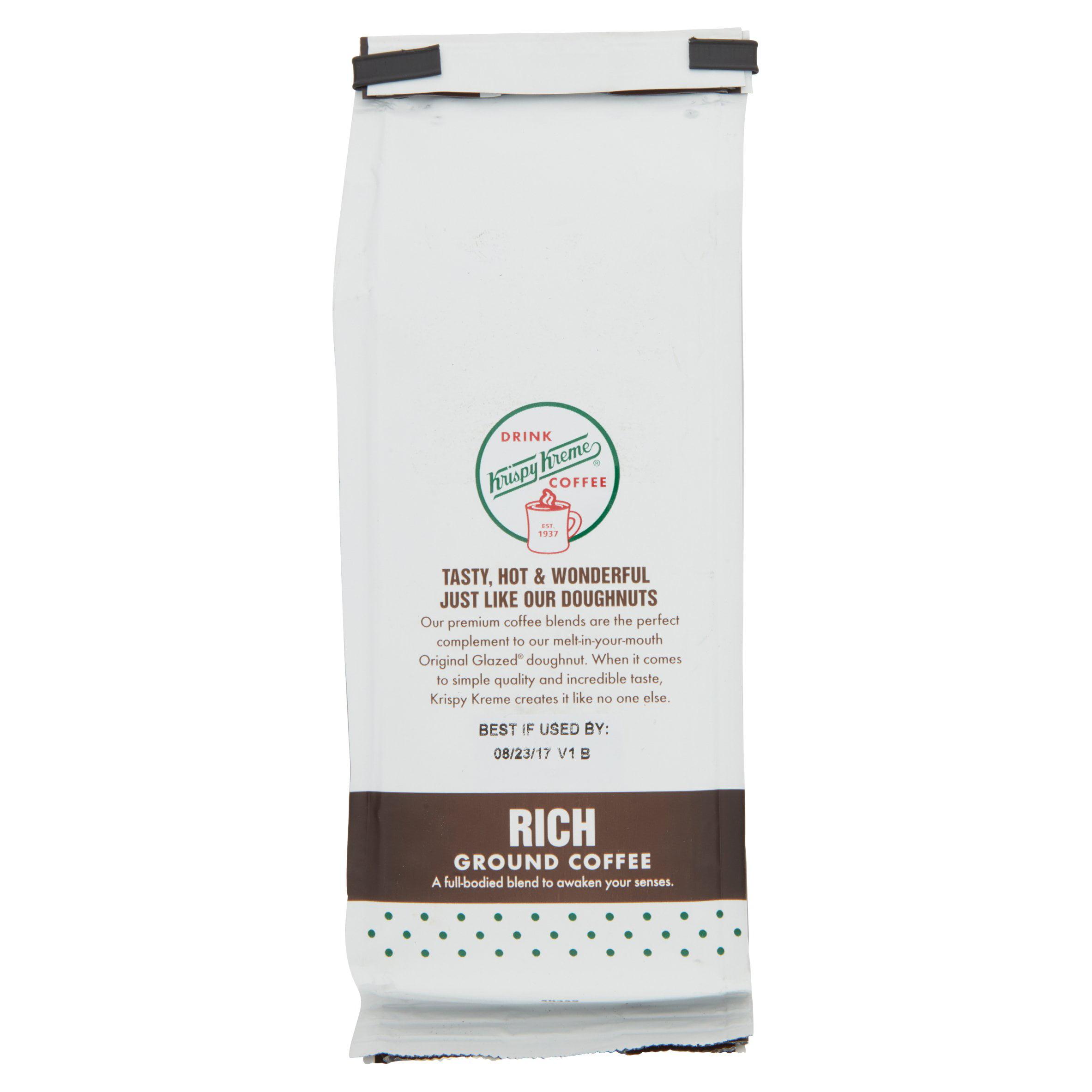 Krispy Kreme? Rich Ground Coffee 12 oz. Bag - Walmart.com
