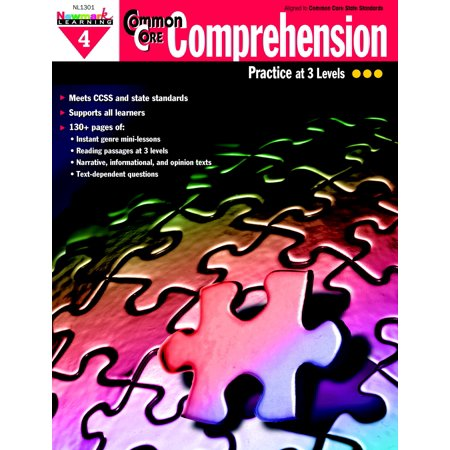 Image of Newmark Learning Common Core Comprehension Reproducible Book, Grade 4