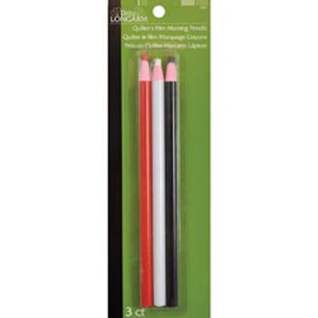 Marking Pencil (Dritz Longarm Quilter's Film Marking Pencils, 3pk, Red, White and)