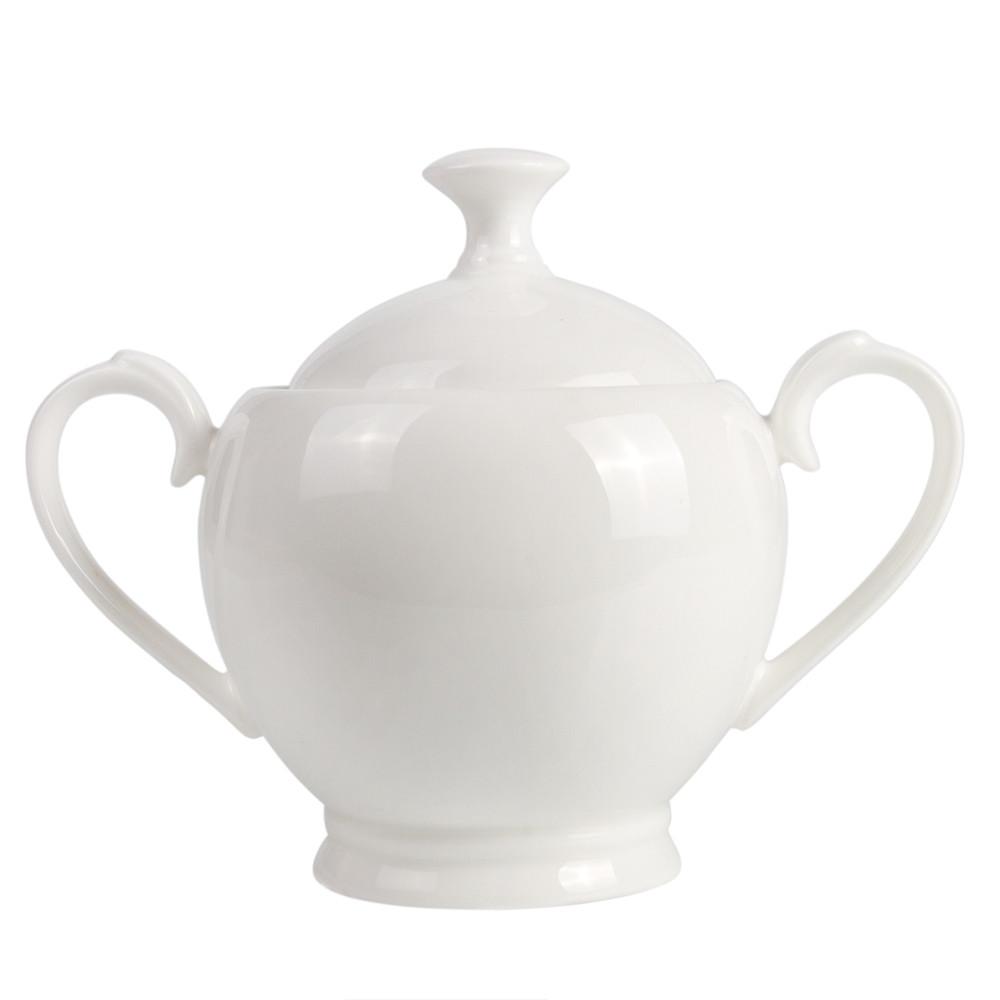 15-Pc Bone China Tea Set Pour 6 Personnes Porcelaine Blanche placage or RUSSIE GZHEL