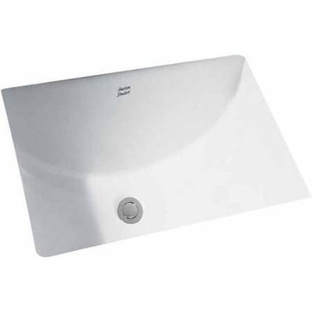 American Standard 0618.000.020 Studio Rectangular Undermount Sink, Available in Various Colors American Standard Undermount Sink