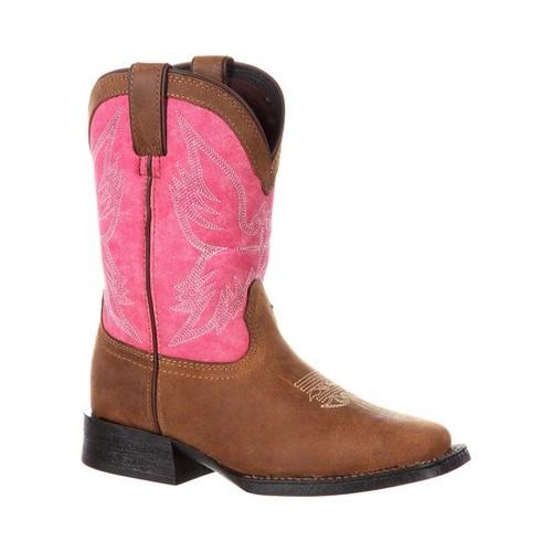 "Children's Durango Boot DBT0167 Lil' Mustang 8"" Little Kid Western Boot by Durango"