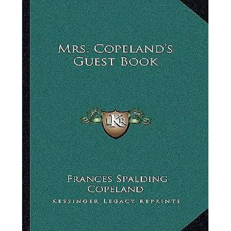 Mrs. Copeland's Guest Book - image 1 de 1