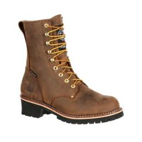 Men's Georgia Boot GB00065 Steel Toe WP Insulated Logger Work Boot
