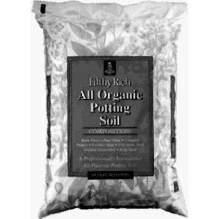 - Filthy Rich 40 LB All Organic Potting Soil Only One