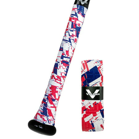 Vulcan 0.50mm Bat Grip / Red, White & True