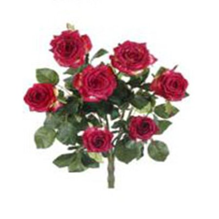 - FBR054-RE 21. 5 inch Red Confetti Rose Bush X7- Pack of 6