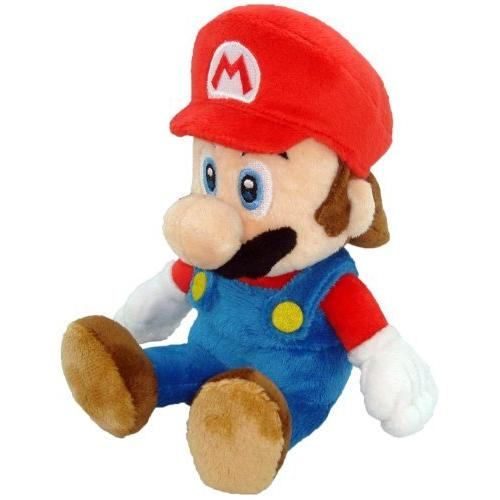 Global Holdings Super Mario Wii Plush Mario