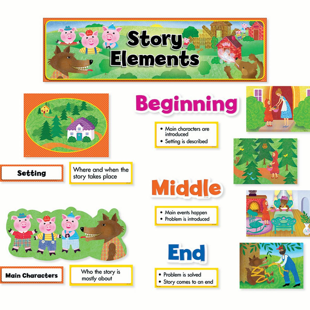 STORY ELEMENTS MINI BB SET