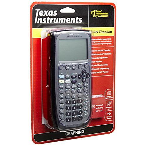 Refurbished Texas Instruments TI-89 Titanium Graphing Calculator
