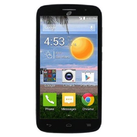 Alcatel Onetouch Icon Pop Android Prepaid Phone With Triple Minutes  Tracfone