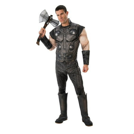 Marvel Avengers Infinity War Deluxe Mens Thor Halloween Costume (Original Halloween Costumes For Men)