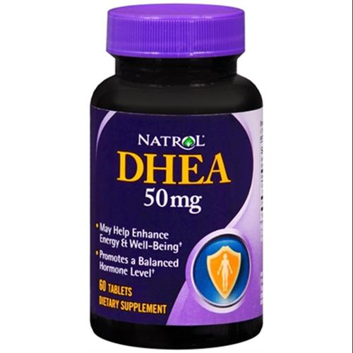 natrol dhea 50 mg tablets 60 tablets pack of 2 walmart com
