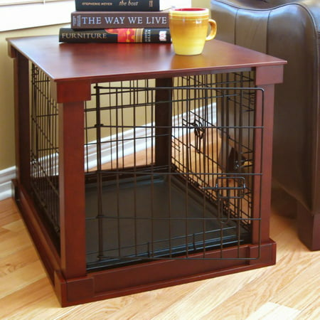 (Merry Products End Table Pet Crate with Cage Cover)