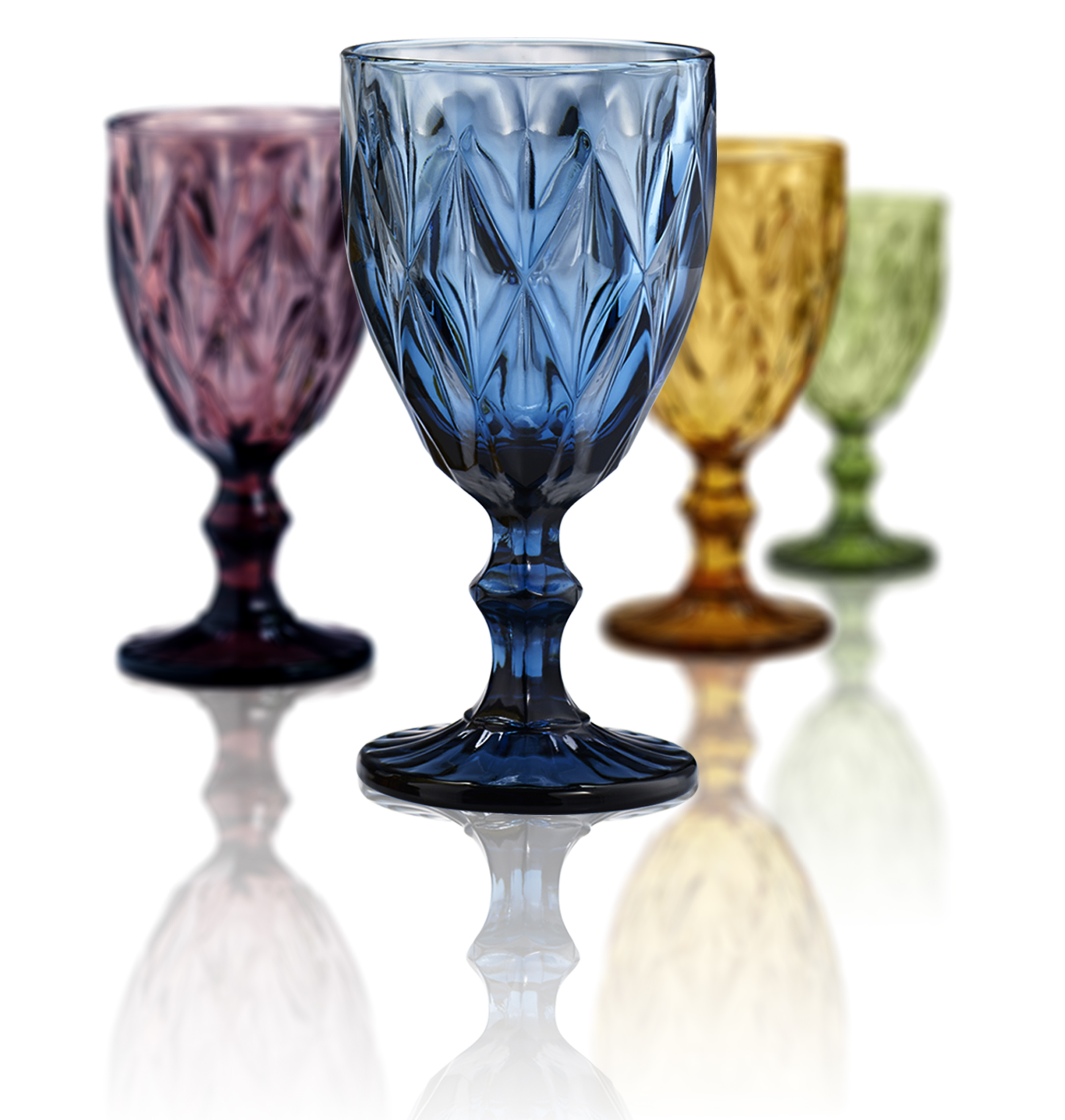 Click here to buy Artland Highgate Goblets Set of 4 by Artland Inc.