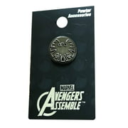 Avengers Assemble Pin With Loop for Optional Necklace Costume Accessory