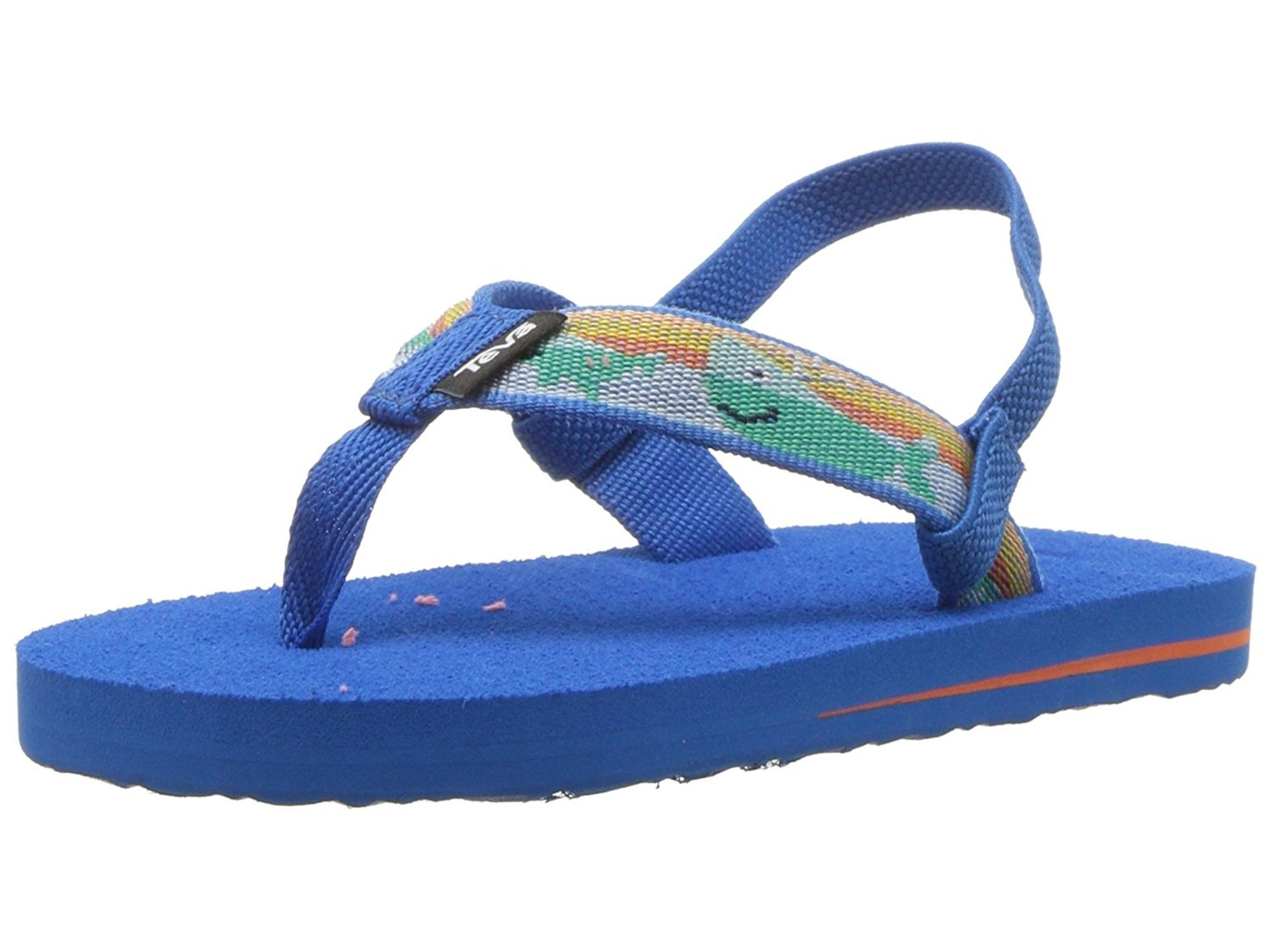 4115224c6 Teva Girls mush II Bungee Ankle Strap Flip