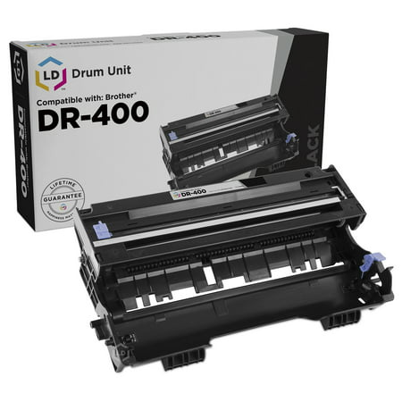 LD Compatible with Brother DR400 Laser cartridge Drum Unit (Laser Photoconductor Unit)