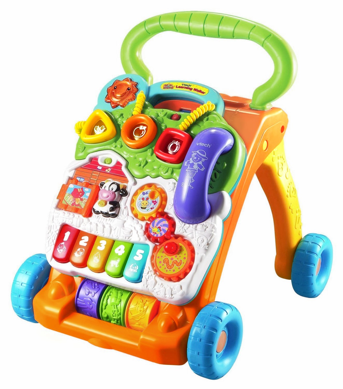 Vtech Sit To Stand Learning Walker Walmart Com