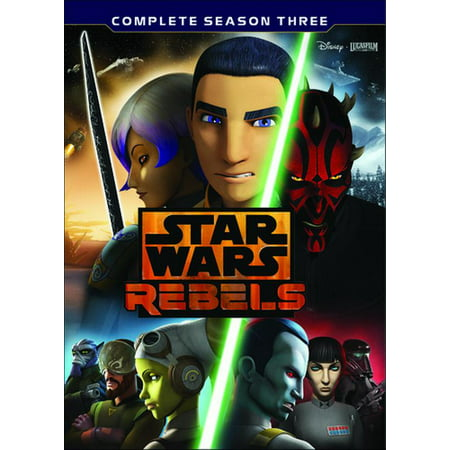 Star Wars Rebels: Complete Season Three - Halloween Wars Season 1 Cast