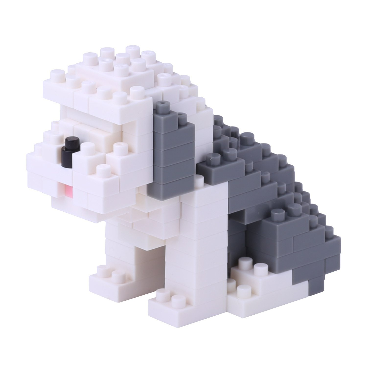 Nanoblock Old English Sheep Dog Building Kit, Officially Licensed by Kawada By Kawada by
