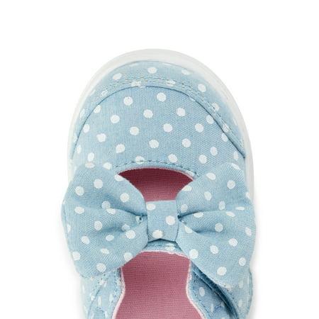 Wonder Nation Mary-Jane Bow Sneaker (Infant Girls)
