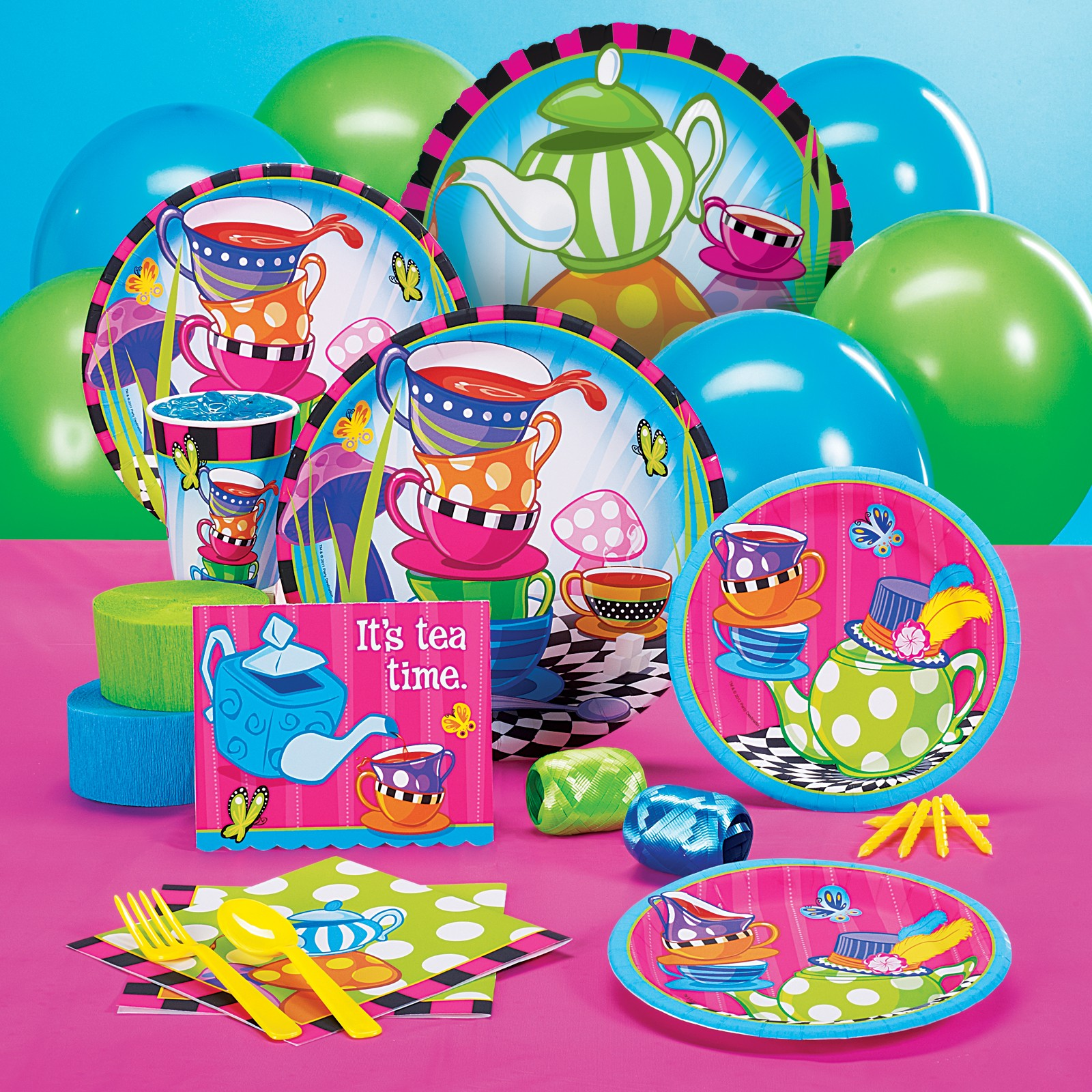 Topsy Turvy Tea Party Standard Pack for16