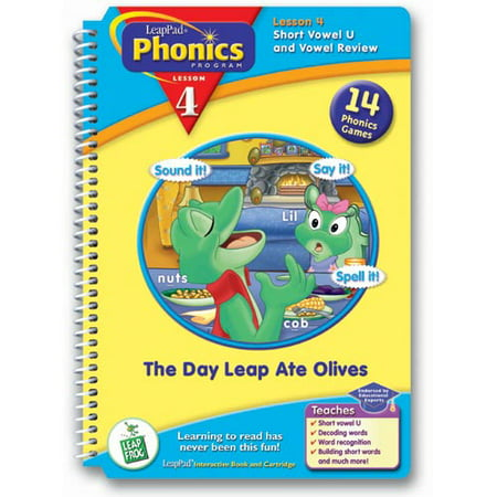 LeapFrog LeapPad Phonics Lesson 4: The Day Leap Ate (Day Frog)