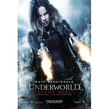 Underworld  Blood Wars  2016  27X40 Movie Poster