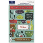 Cardstock Stickers-What's Cooking