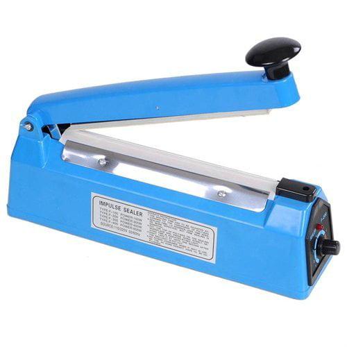 "8"" Portable Plastic Bag Sealer Handheld Heat Impulse Package Sealing Machine by Generic"