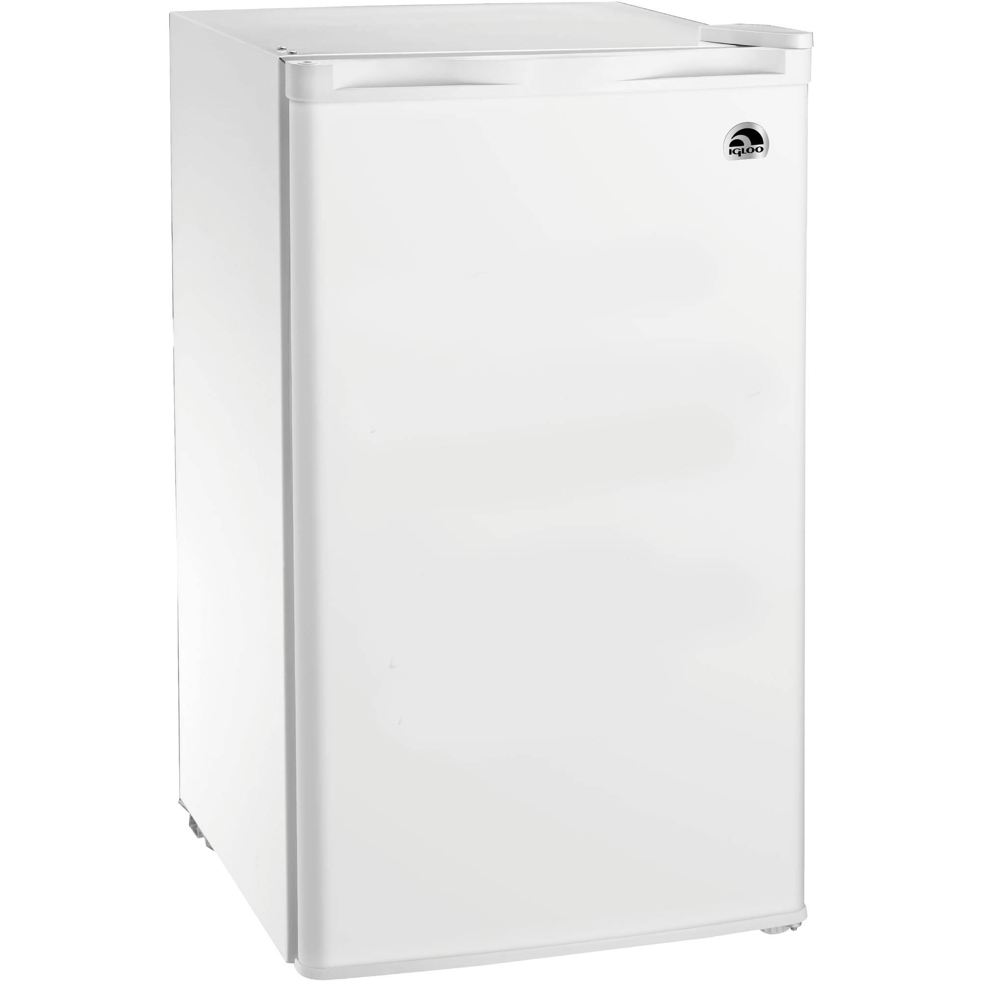 Igloo 4 5 Cu Ft Refrigerator And Freezer Black Fr464