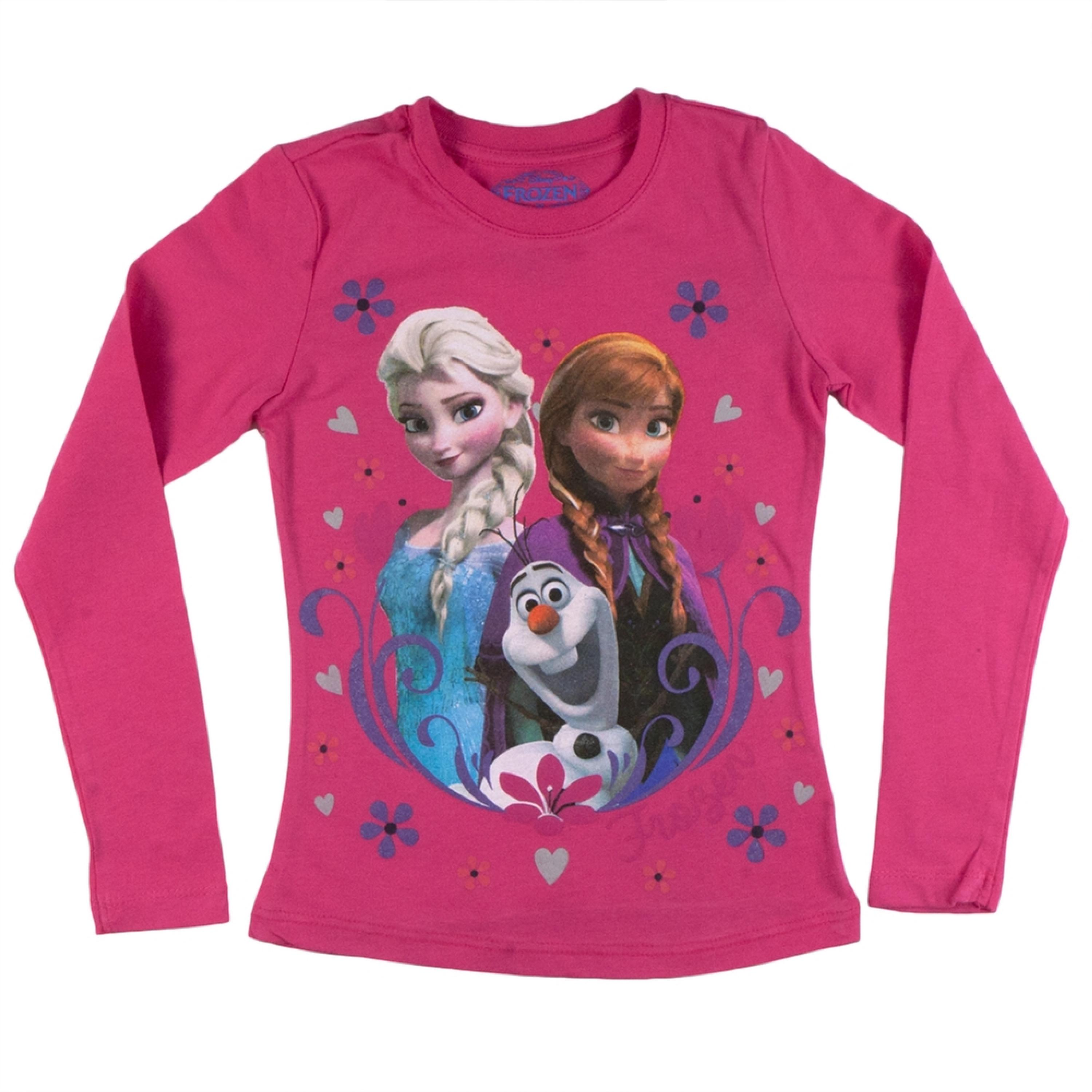 Group Flakes & Hearts Girls Juvy Long Sleeve T-Shirt