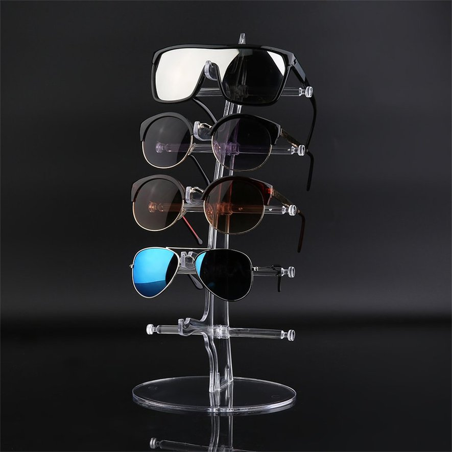 Plastic 40 Pair Sunglasses Glasses Show Rack Counter Display Stand Holder Simple Plastic Counter Display Stands