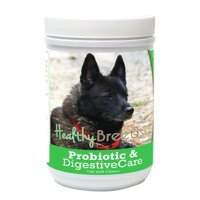 Healthy Breeds 840235165262 Norwegian Elkhound Probiotic & Digestive Care Soft Chews for Dogs