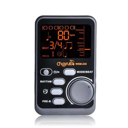 Protable Drum Universal Electronic Metronome Metro Tuner Rhythm Device Wsm 240