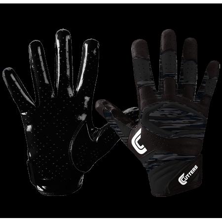 Cutters Adult Rev Pro 2.0 Phantom Camo Football Receiver Gloves