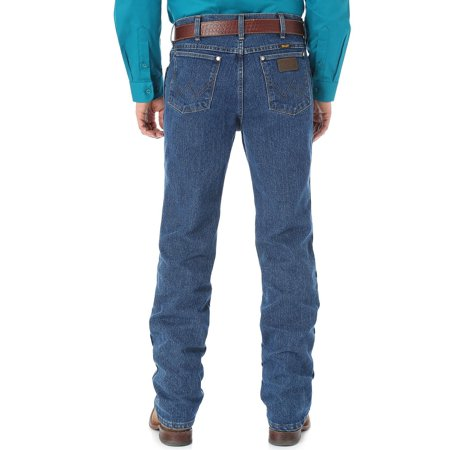 e668eadd Wrangler - wrangler men's big-tall premium performance cool advantage cowboy  cut slim fit jean, dark stone, 34x38 - Walmart.com