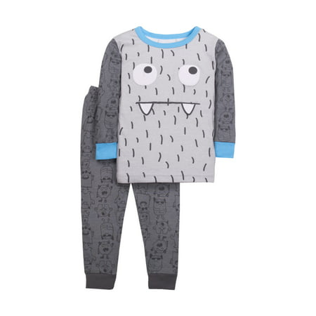 Little Star Organic Baby Toddler Boy Tight Fit 2pc Pajamas for $<!---->